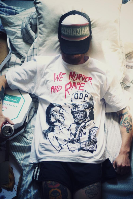 We murder and rape