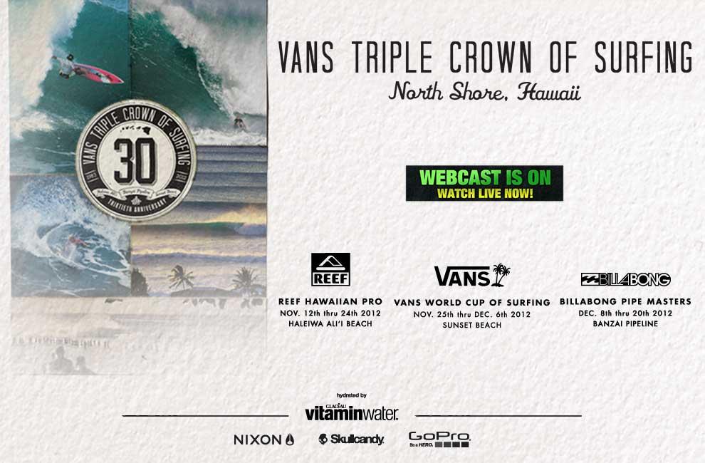 Vans Triple Crown of Surfing 2012