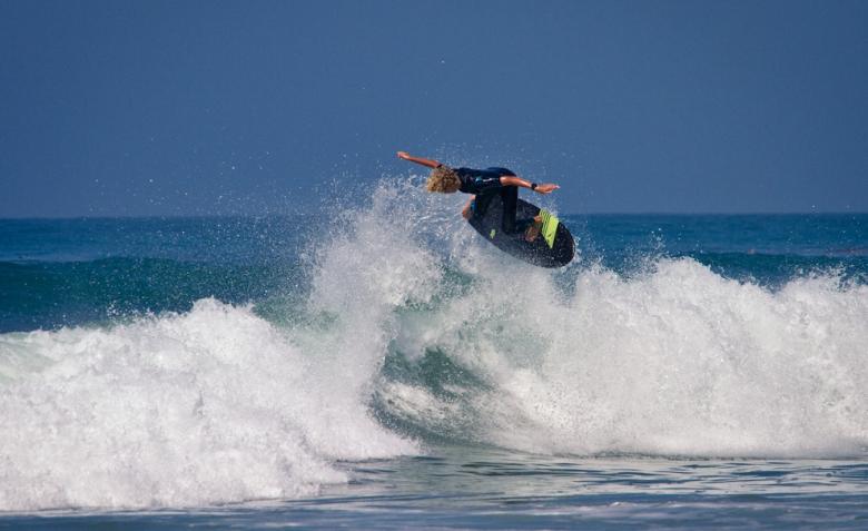 Blair Conklin em T Street, San Clemente. Foto: Andre Magarao