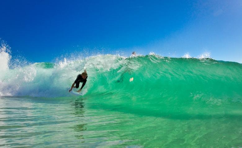 Diversão infinita mesmo quando as ondas estão ruins. Foto: Andre Magarao