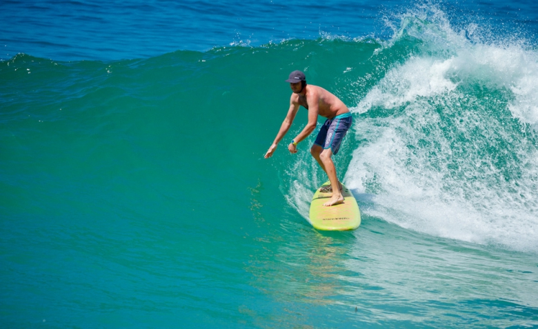 Steve Taylor em 10th Street, Laguna Beach. Foto: Andre Magarao