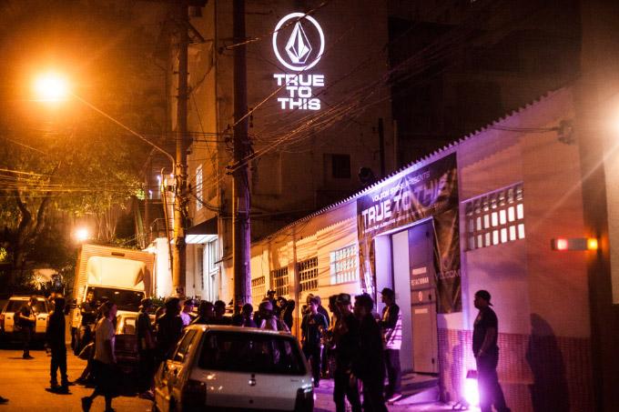 B_arco Centro Cultural em São Paulo, no dia 25 de março. Premiere do filme True To This. Foto: Fabiano Rodrigues