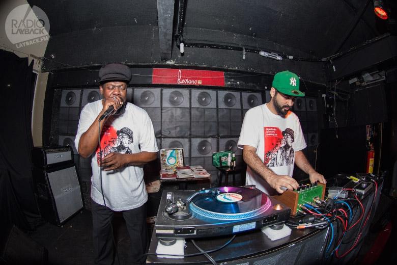 Ao todo Ranking Joe e MPC do Digitaldubs passaram por quase dez cidades em apenas duas semanas. Foto: Radio Layback