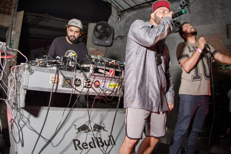 MPC, De Leve e Rabu Gonzales. Foto: Radio Layback
