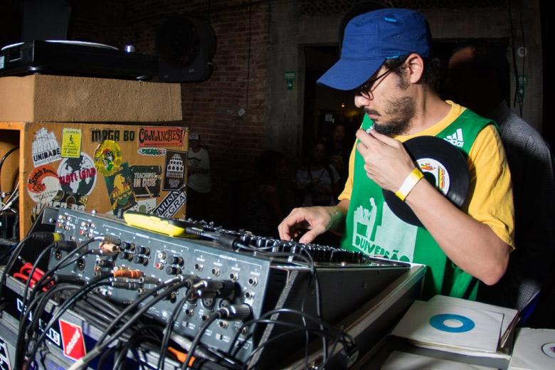 Yellow P no comando. Foto: Radio Layback