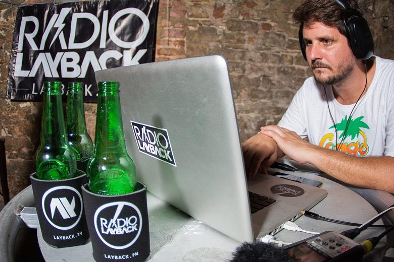Tudo o que rolou nos dois dias na pista Sound foi transmitido ao vivo pela Radio Layback em Layback.FM. Foto: Radio Layback