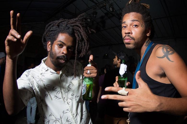 Victor Bhing I e Douglas Pedroza da Divina Providência Crew também marcaram presença. Foto: Radio Layback