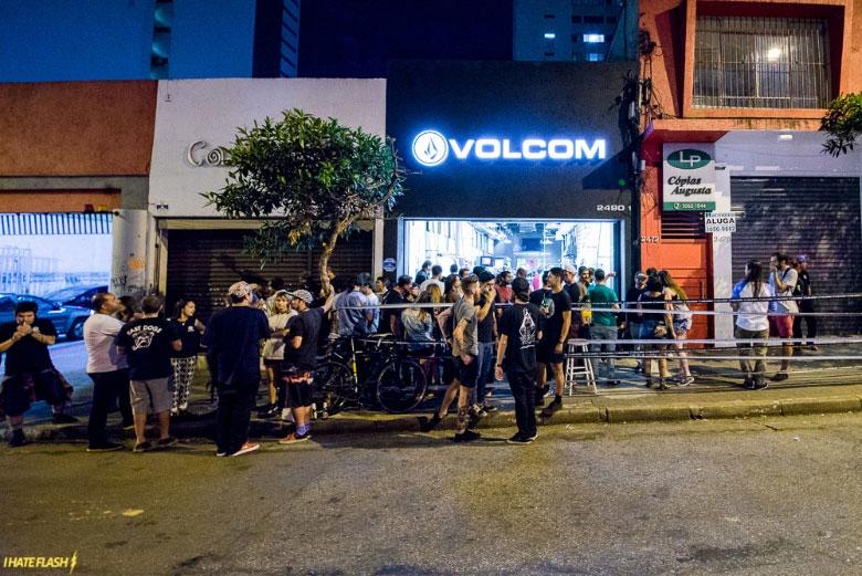 Nova Flagship Volcom, na Rua Augusta 2490, São Paulo.