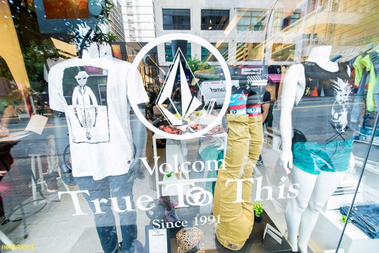 A primeira loja com o conceito True To This da marca.