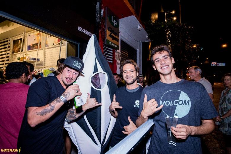 Daniel Cortez, Marcelo Trekinho e Marcos Sifu.