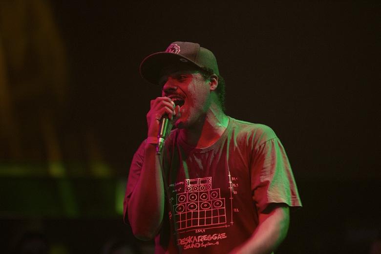 Monkey Jhayam apresentou faixas do seu álbum Nascente. Foto: Radio Layback