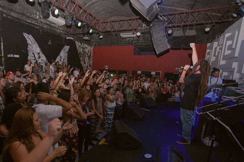 O Cidade Verde Sounds, agora residente em São Paulo, com certeza deixou os paulistanos ansiosos pelo próximo show. Foto: Radio Layback