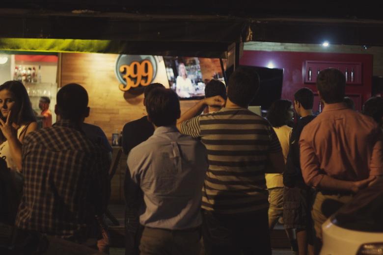 O Bar399 já recebe o som da Radio Layback ao vivo toda quinta-feira, mas o Metallica nas alturas foi inédito! Foto: Hugo Carmo