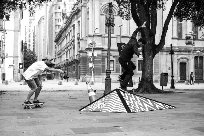 Biano Bianchin estreando o pico. Foto: Fabiano Rodrigues