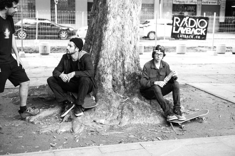 Biano e Giovanni dando um 10. Foto: Fabiano Rodrigues