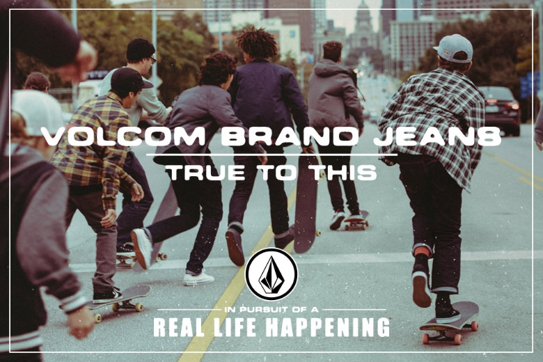 Volcom Brand Jeans Apresenta: Real Life Happening