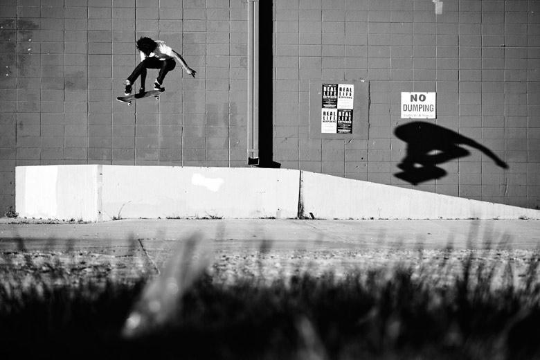 Chris Pfanner, Kickflip Melon. Foto: Arto Saari