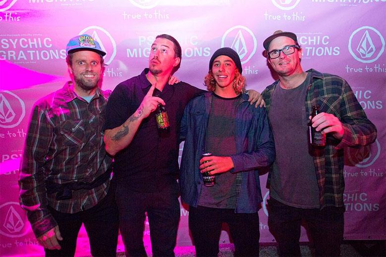 Ryan Boyes, Daniel Cortez, Yago Dora e Jack Morrissey. Foto: Gustavo Faraco