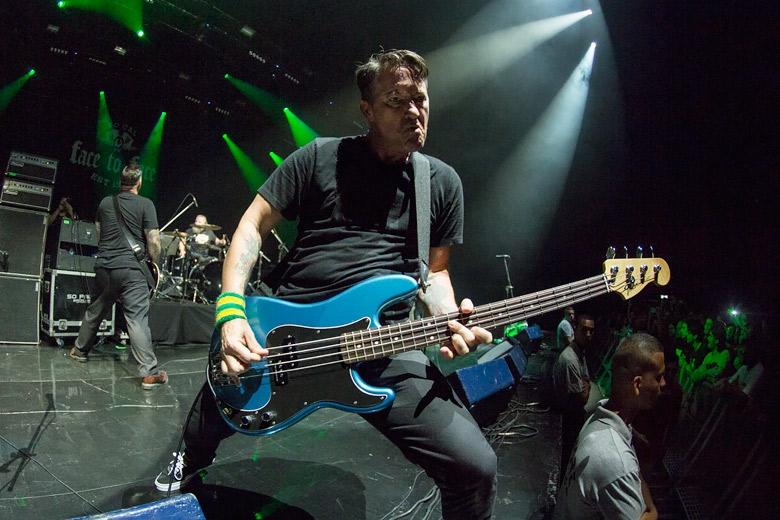 Scott Shiflett, baixista do Face To Face desde o terceiro álbum da banda. Foto: Radio Layback