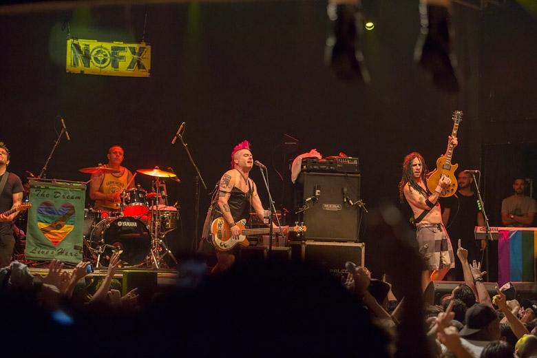Nofx pela terceira vez no Rio de Janeiro. Foto: Radio Layback