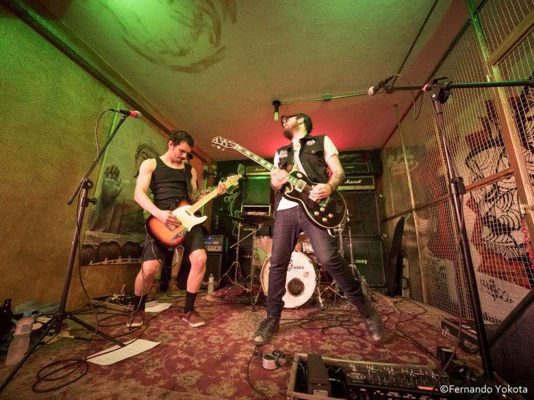Hellhound Syndicate Ao Vivo na 1a Abraxas Skate Jam na Cavepool em SP.
