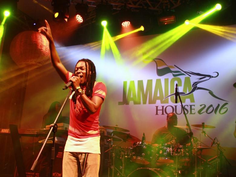 O jamaicano Nature se apresentou no dia 17 de agosto. Foto: Elza Cohen