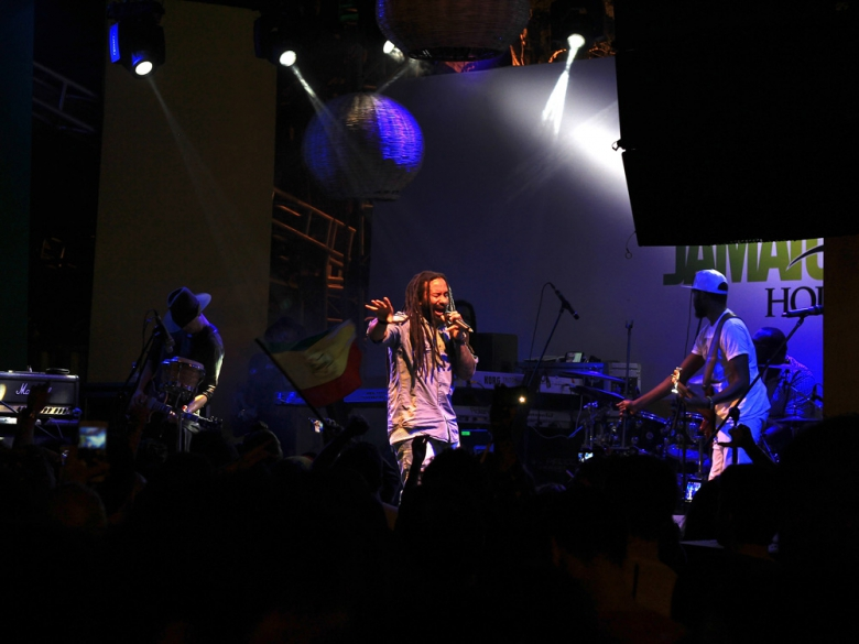 Ky-Mani Marley na Jamaica House. Foto: Elza Cohen