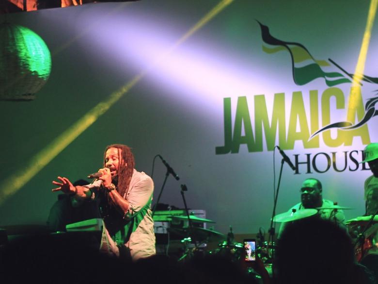 Ky-Mani Marley no dia 20 de agosto, último dia do evento. Foto: Elza Cohen