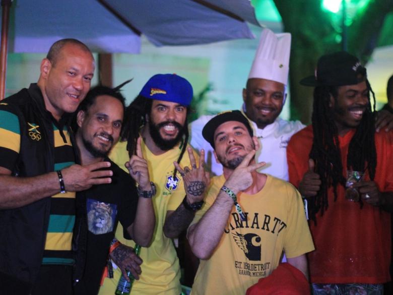 Cena carioca reunida na Jamaica House. Foto: Elza Cohen