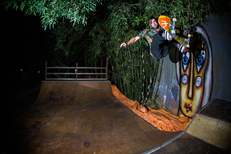 Sessão noturna na The Search House. Foto: Layback