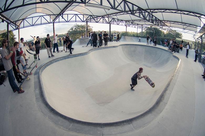 Quintal Skatepark. Foto: Rodrigo Kbça